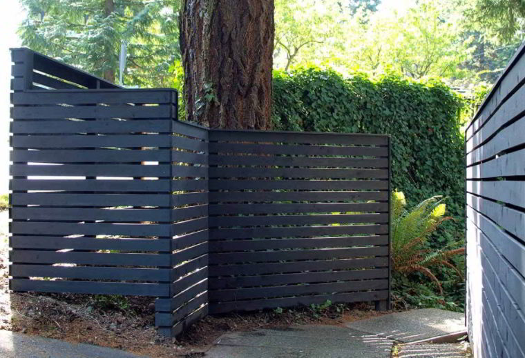 Cypress Wooden Fencing