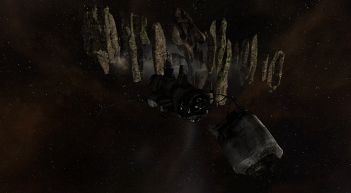 Vidette: Asteroid Temple - Ghost Ship