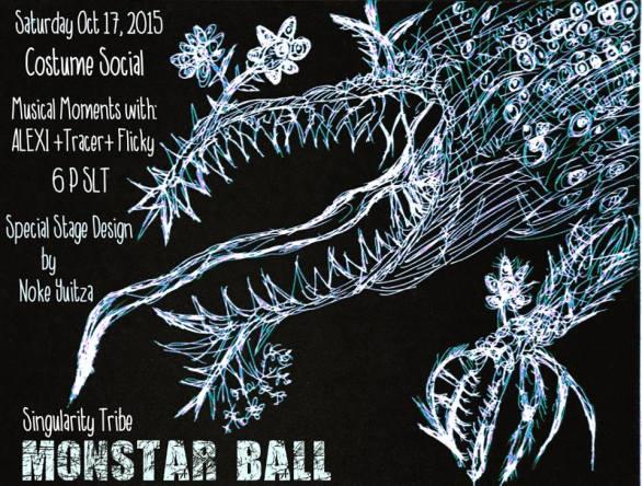 SIngularity Tribe Monster Ball Halloween Party