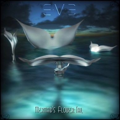 E.V.E Poster Ethereal Mermaid Flower-Tail