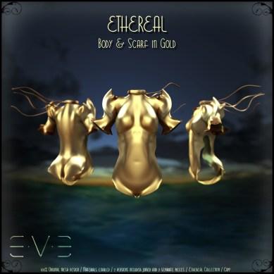 E.V.E (V) Ethereal Body Gold