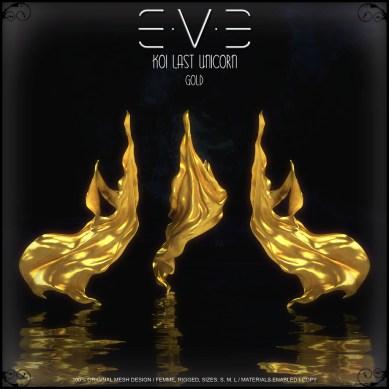 E.V.E {V-KOI} Last Unicorn Gold
