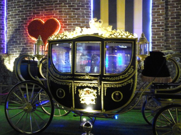 Queen's carriage,vinneve