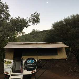 photo of our Ultimate camper trailer
