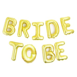 Ballons lettres 'Bride to Be'