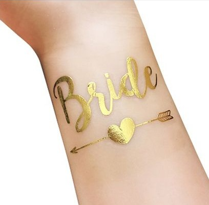 Tatouage evjf Bride future mariée