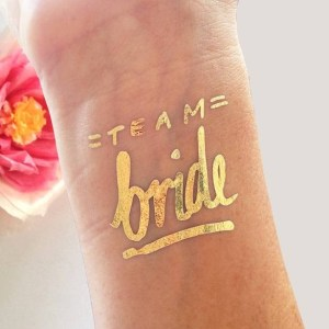 Tatouage Team Bride evjf