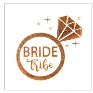 Tatouage 'Bride Tribe'