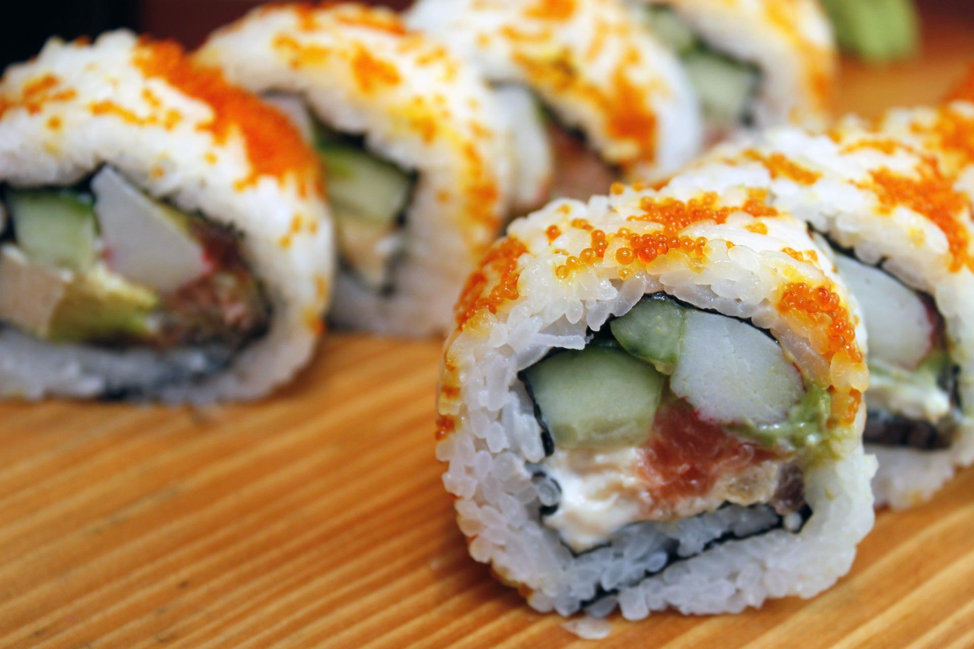 Atelier sushi evjf