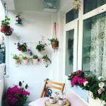 Balkon Duvari Dekorasyonu