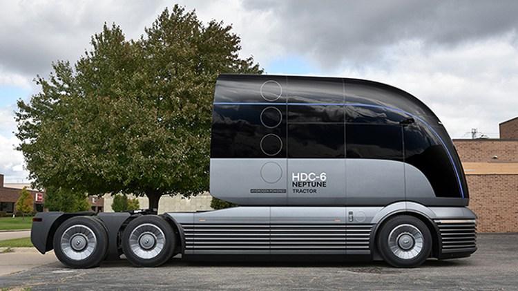 Hyundai Motor Company HDC-6 NEPTUNE Concept Class 8 Heavy Duty Truck-2