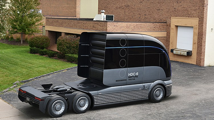 Hyundai Motor Company HDC-6 NEPTUNE Concept Class 8 Heavy Duty Truck-3