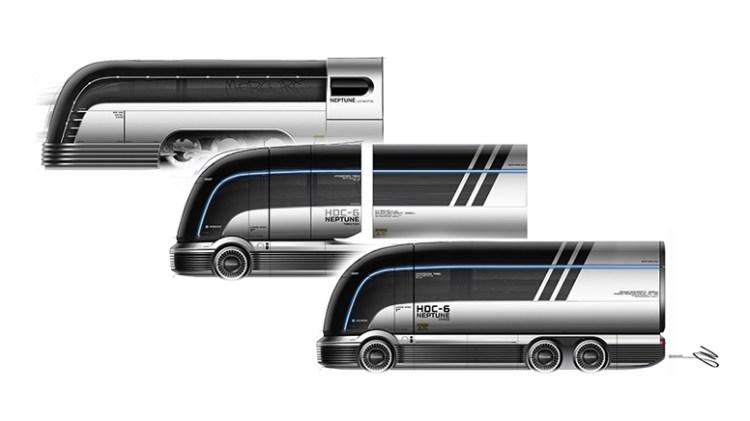 Hyundai Motor Company HDC-6 NEPTUNE Concept Class 8 Heavy Duty Truck-6