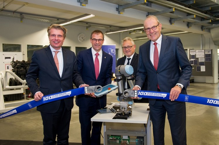 Rolls-Royce eröffnet neues Ausbildungszentrum