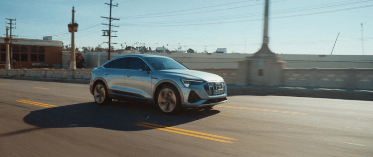 "Audi and Maisie Williams invite the world to ""Let It Go"" and embrace electric future in Game Day spot-3"