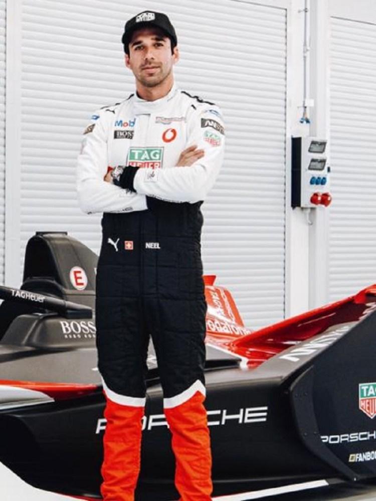Neel Jani Formula E