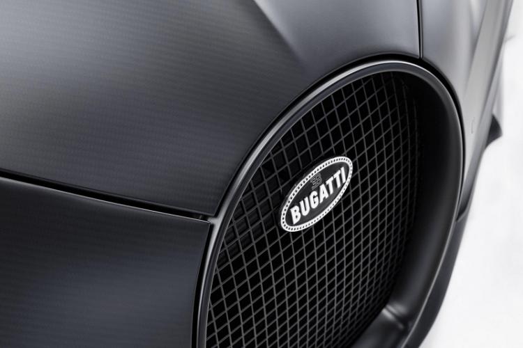 Bugatti Chiron Edition Noire Sportive front nose