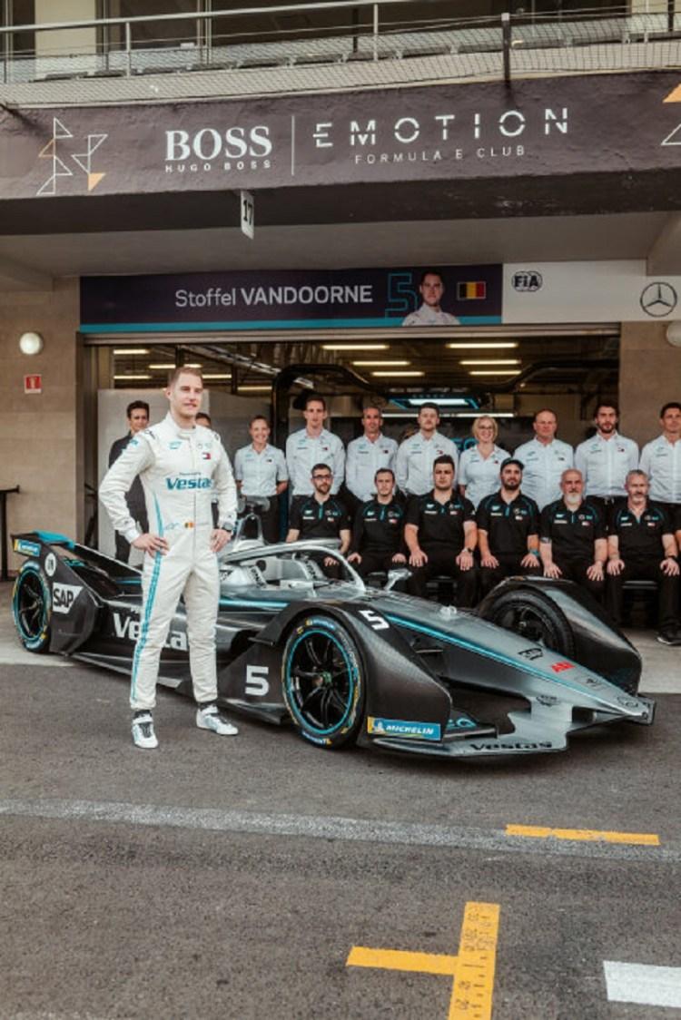 Formula E - Mercedes-Benz EQ Formula E Team, Mexico E-Prix 2020. Stoffel Vandoorne