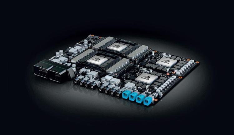 High-performance AI computer NVIDIA Drive AGX Pegasus, 2020, Porsche AG