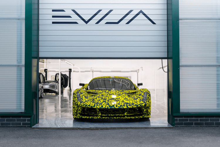 LOTUS EVIJA Camo at Assembly