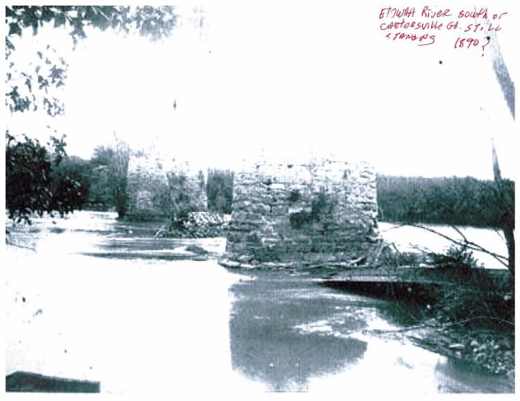 West of Etowah RR Bridge near Paga Mine