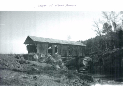 Etowah Furnace and bridge destroyed