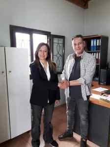 Τζοβάννα Γκόγκου μαζί με υποψήφιους δημοτικούς συμβούλους επισκέφθηκαν το εργοτάξιο του Δήμου