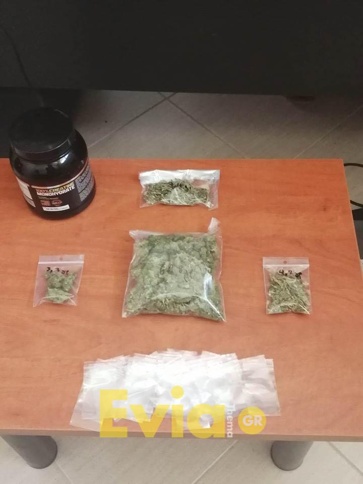 Ψαχνά Ευβοίας: Σύλληψη ημεδαπού πριν λίγο για διακίνηση ναρκωτικών