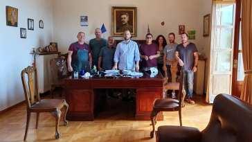 Αλέξανδρος Θεοδώρου: Ως Αντιδήμαρχος Κύμης
