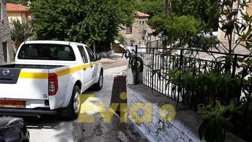 τα συνεργεία του Δήμου Διρφύων Μεσσαπίων