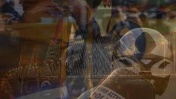 Υψηλή γέφυρα Χαλκίδας: Νεαροί έκαναν κόντρες με μηχανές