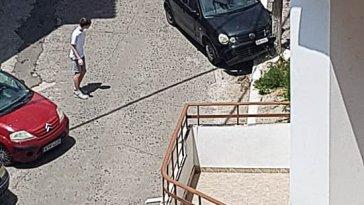 Αλιβέρι: Τροχαίο έξω από το Γενικό Λύκειο το μεσημέρι της Δευτέρας