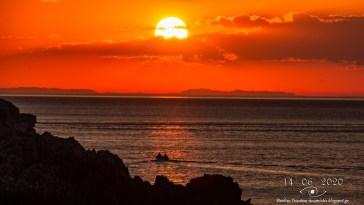 Κύμη Ευβοίας: Το θέαμα του ηλιοβασιλέματος που θα σας αφήσει άφωνους