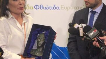 Επίσκεψη Γιάννας Αγγελοπούλου - Δασκαλάκη στην Περιφέρεια Στερεάς Ελλάδας