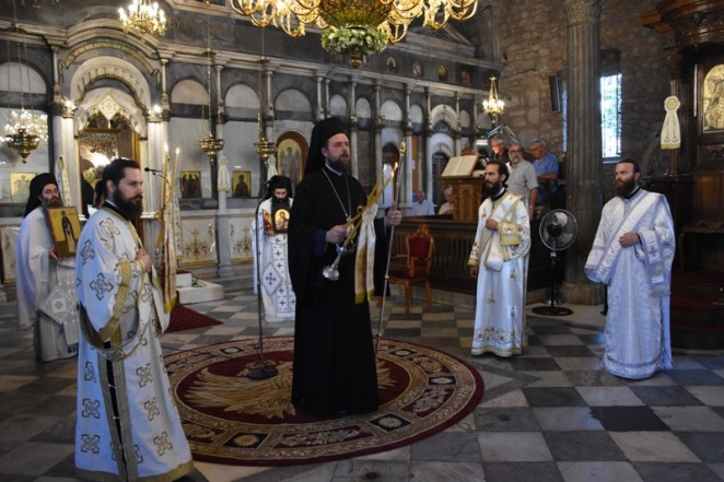 η εορτή της Αγίας Παρασκευής στην Χαλκίδα