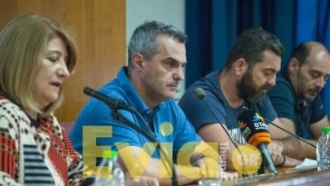 Ο Πρόεδρος του ΟΛΝΕ Σπύρος Γεροντίτης