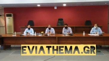 Εύβοια: Κοινές δηλώσεις Υπουργού Καραμανλή και Περιφερειάρχη Σπανού