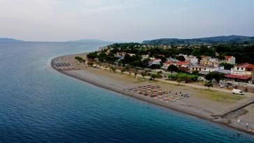 Αυθεντική Μαραθώνια κολυμβητική διαδρομή στο Πευκί Ευβοίας