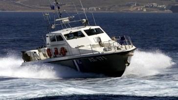 Πολιτικά Ευβοίας: Βυθίστηκε σκάφος λόγω της κακοκαιρίας