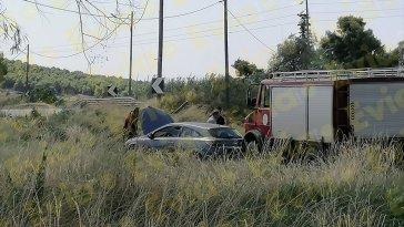 Ψαχνά Ευβοίας: Τροχαίο ατύχημα στον Κολοβρέχτη