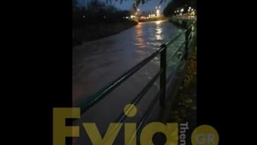 Ψαχνά Νέα Μεσσάπιος Πλημμύρα