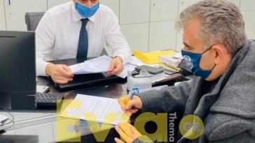 Λευτέρης Ραβιόλος - Σύμβαση ΑΤΜ στο Μαρμάρι