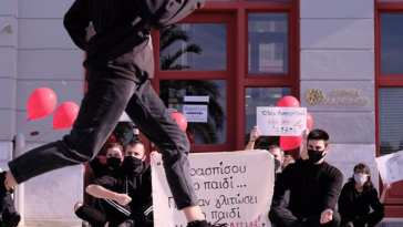 διαμαρτυρία της τοπικής ομάδας 'El Camino.'