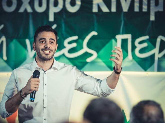 Ο γραμματέας του ΚΙΝΑΛ Μανώλης Χριστοδουλάκης στο eviathema.gr