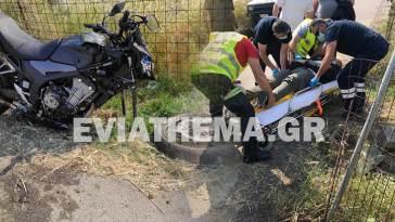 Τροχαίο ατύχημα με μηχανή Λέπουρα