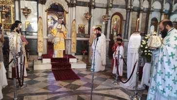 Κυριακή των Πατέρων στην Ιερά Μητρόπολη Χαλκίδος