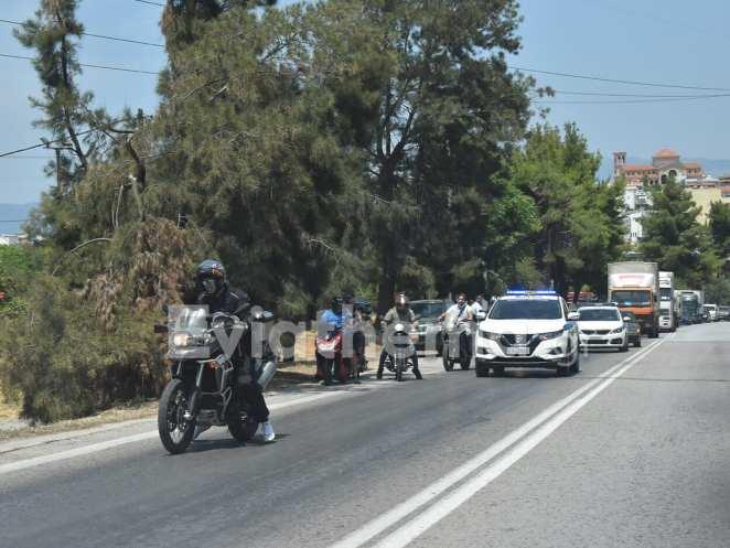 Χαλκίδα: Έκλειψε η υψηλή γέφυρα το μεσημέρι της Τρίτης