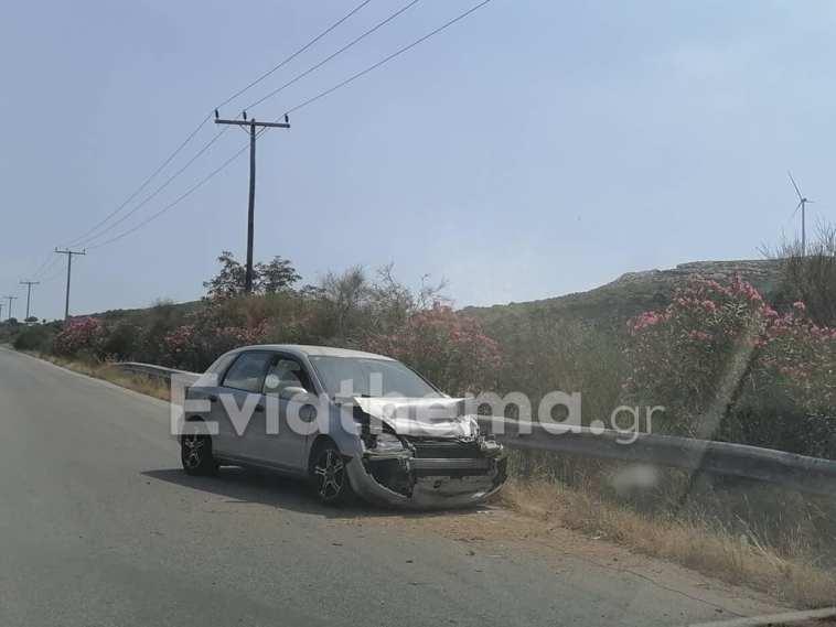 Εύβοια: Τροχαίο ατύχημα