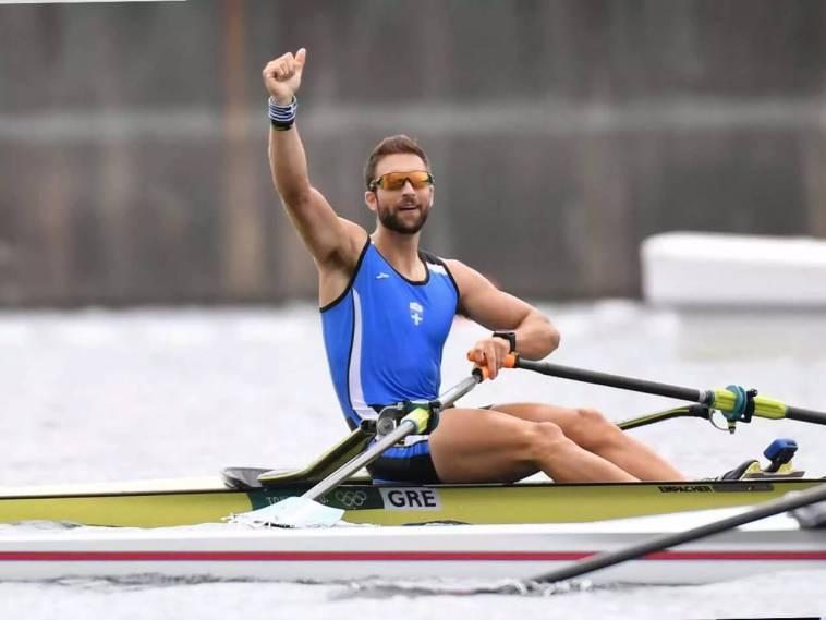 Χρυσός Ολυμπιονίκης Στέφανος Ντούσκος