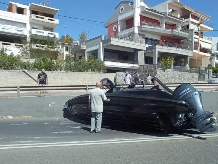 Ατύχημα στην Χαλκίδα